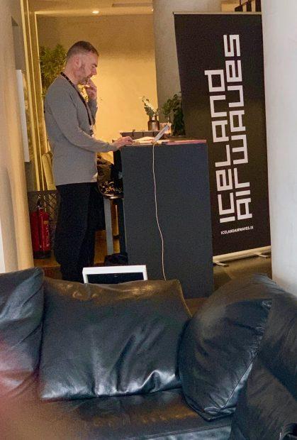 Will Larnach-Jones, Icleand Airwaves Director