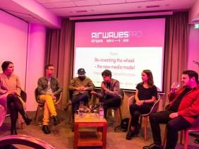 Panel on New Media #Airwaves19