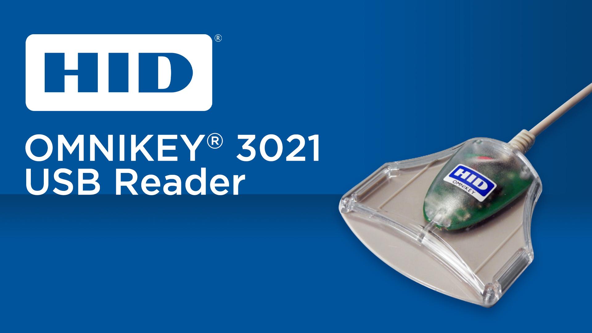 HID Omnikey 3021 USB Reader