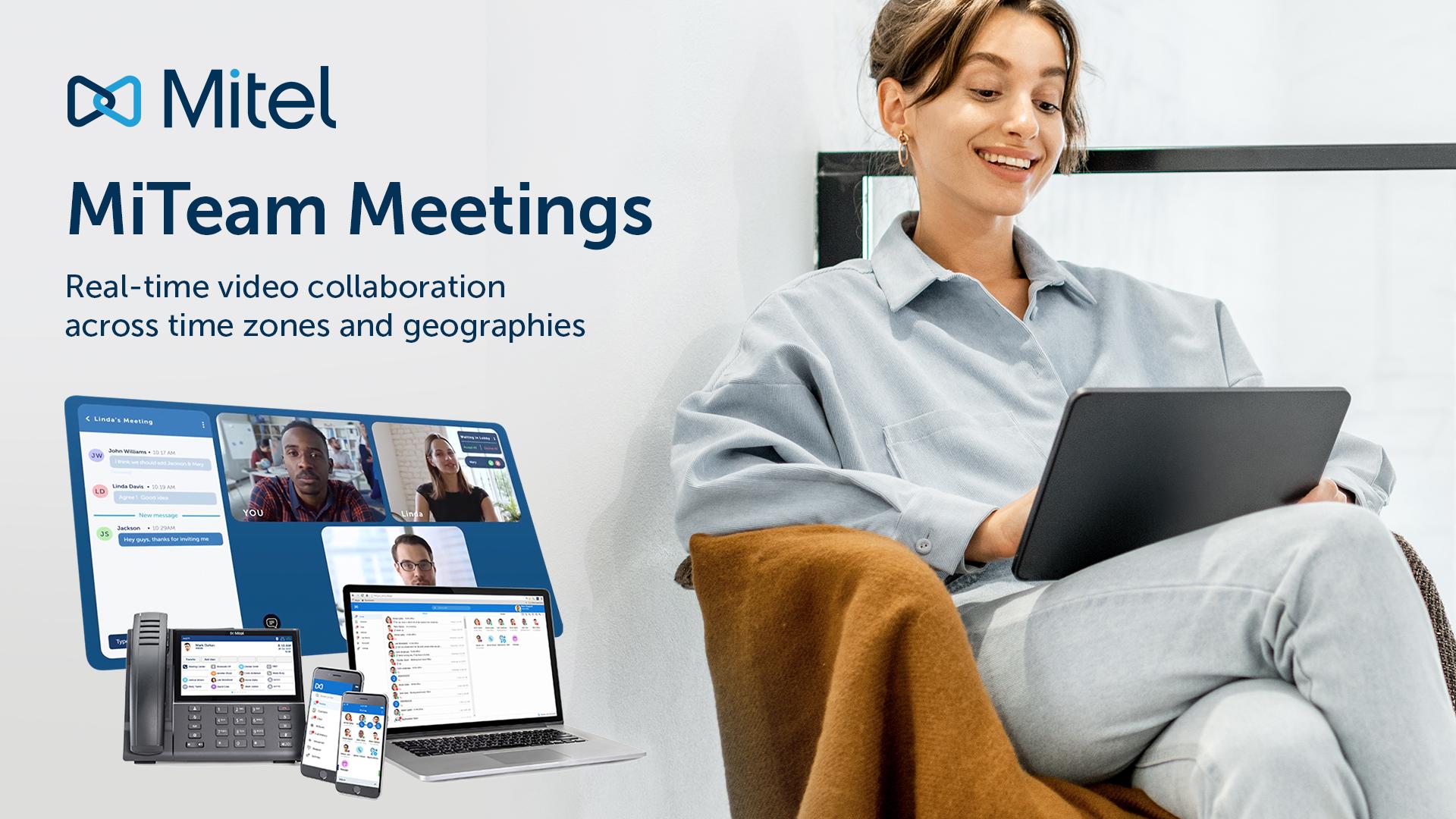 Mitel MiTeam Meetings