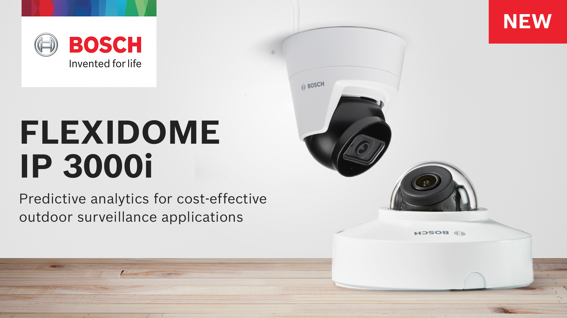 Bosch FLEXIDOME IP 3000i