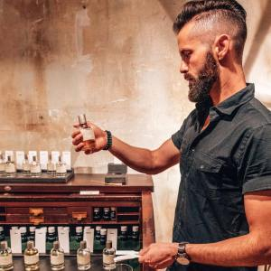 Michael Checkers at Le Labo in Wynwood Miami