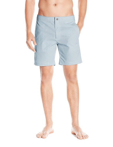 Onia Men's Calder 7.5 Inch Stretch Pattern Swim Trunk