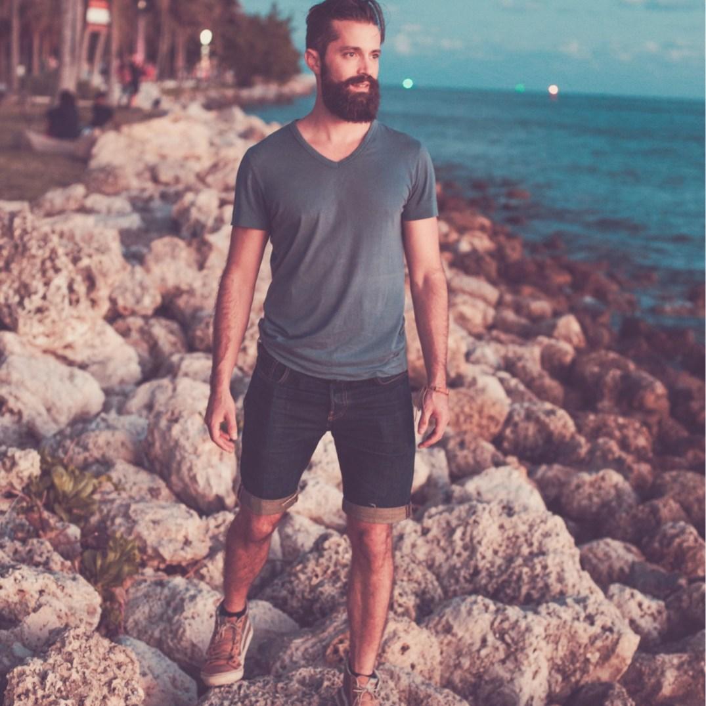 Michael Checkers Miami Beach Men's Steetwear Look 001