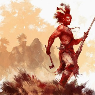 Iroquois and Wendingo by Frank Victoria