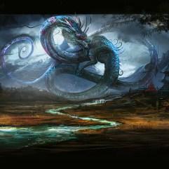 Shenlong the Rainbringer by VampirePrincess007