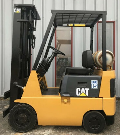 CAT 3000lb Cushion Tire Forklift, Used - Forklift Select