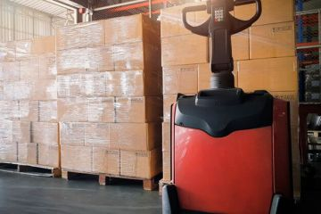 "featured image of the blog titled ""Choosing an Electric Forklift Sets You Apart From Competitors"""
