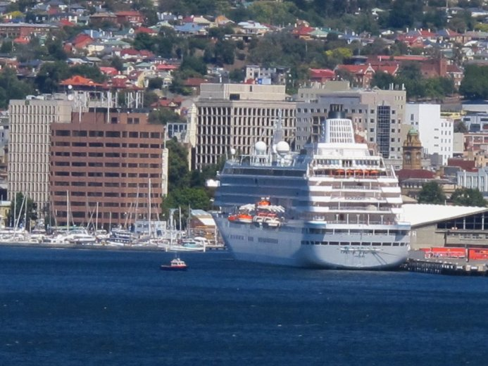 Hobart. from the Crystal Symphony