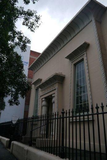 The Hobart Synagogue, 59 Argyle Street
