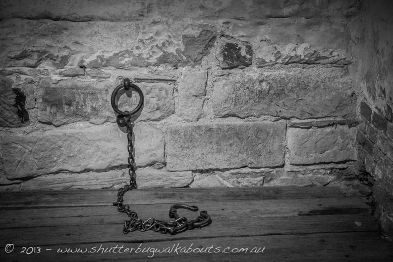 Leg iron-Richmond Gaol-Richmond-- courtesy of Shutterbug Walkabouts
