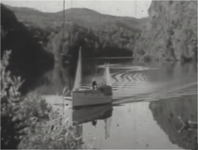 Screen Shot from The Isle of Many Waters by Frank Hurley--13.32