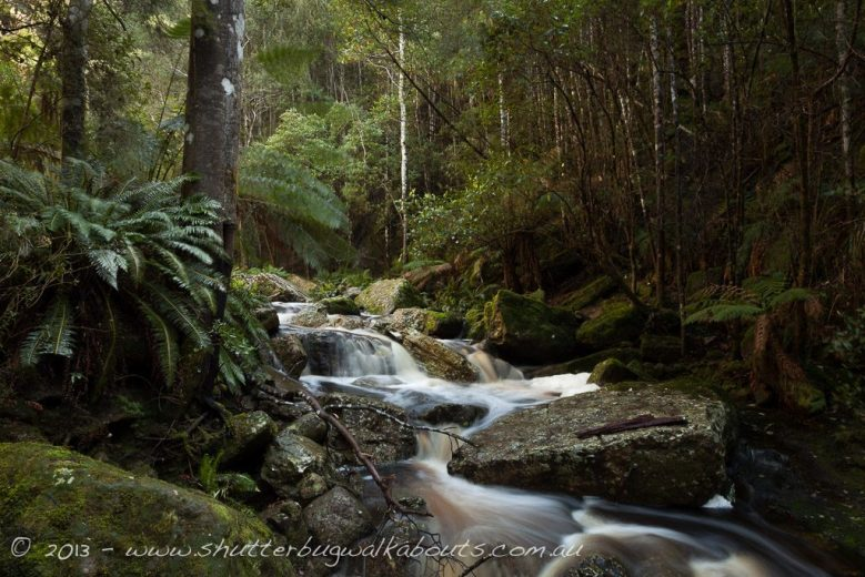Mountain stream-runoff from Snug Falls-Snug- by Shutterbug Walkabouts