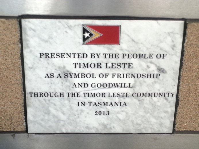 InternationalWallOfFriendship-Timor Leste