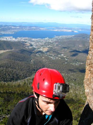 Climbing in Tasmania 002 - by Paul Monigatti