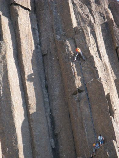 Climbing in Tasmania 131 - by Paul Monigatti