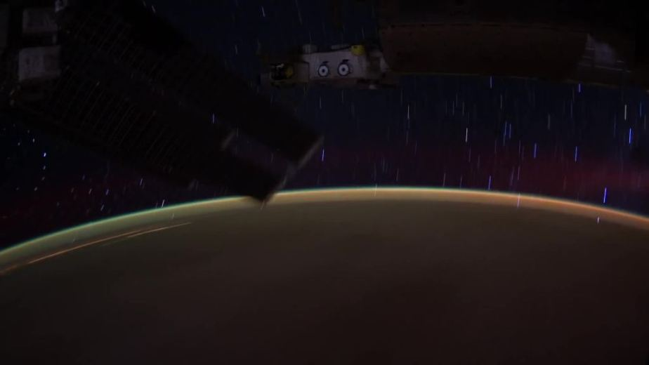 Orbit Timelapse - Intl Space Station - compiled by Selmes Films via NASA - 45