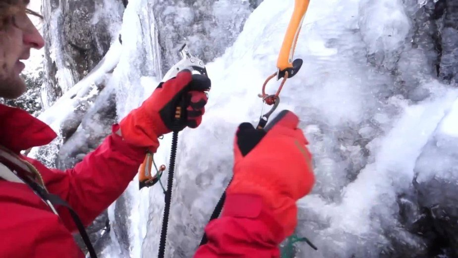 Ice Climbing Tasmania - by Wild Oates Productions with Kim Ladiges - 033