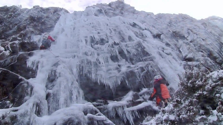 Ice Climbing Tasmania - by Wild Oates Productions with Kim Ladiges - 038