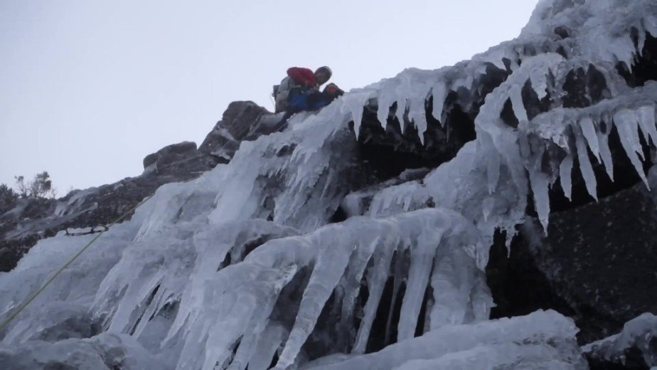 Ice Climbing Tasmania - by Wild Oates Productions with Kim Ladiges - 039
