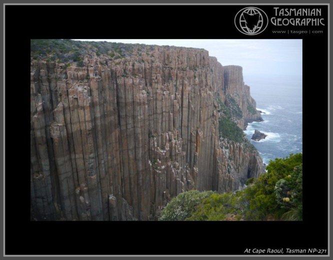 At Cape Raoul, Tasman National Park