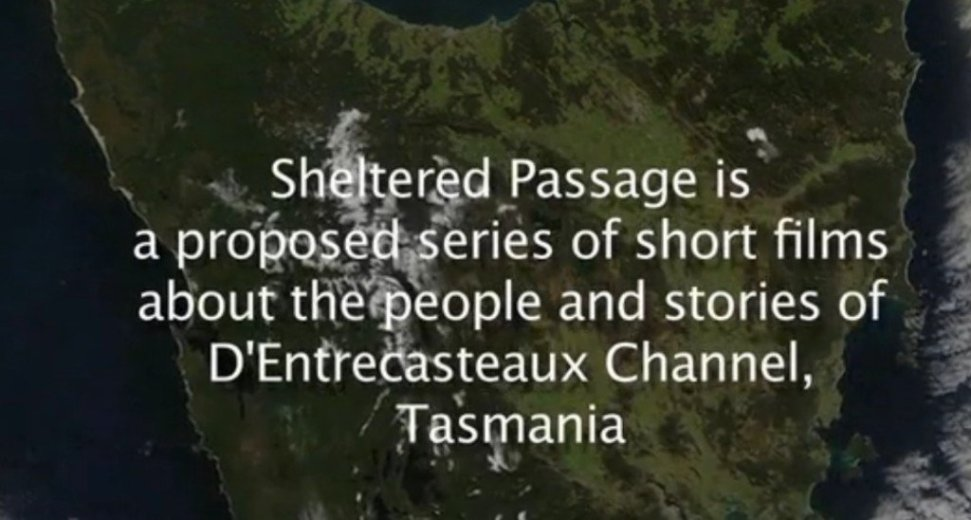 Living with and caring for the D Entrecasteaux Channel - ScreenCap - by Sheltered Passage - 001