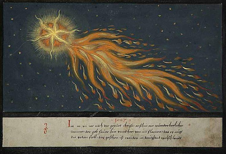 Augsburger Wunderzeichenbuch, Folio 28, c. 1552 – - via Public Domain Review