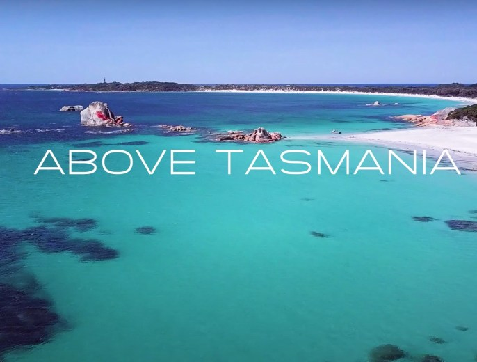 Above Tasmania in 4K - Into the Wild Films - Title