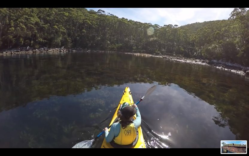 Sea Kayak Tasman Peninsula - Stoked for Saturdays - 41.39