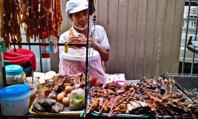 Bangkok Street Vendor