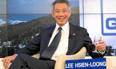 Lee Hsien Loong at the WEF in Davos 2012