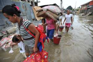 Flood in the Philippines