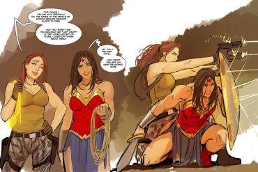 Wonder Woman Femslash cover