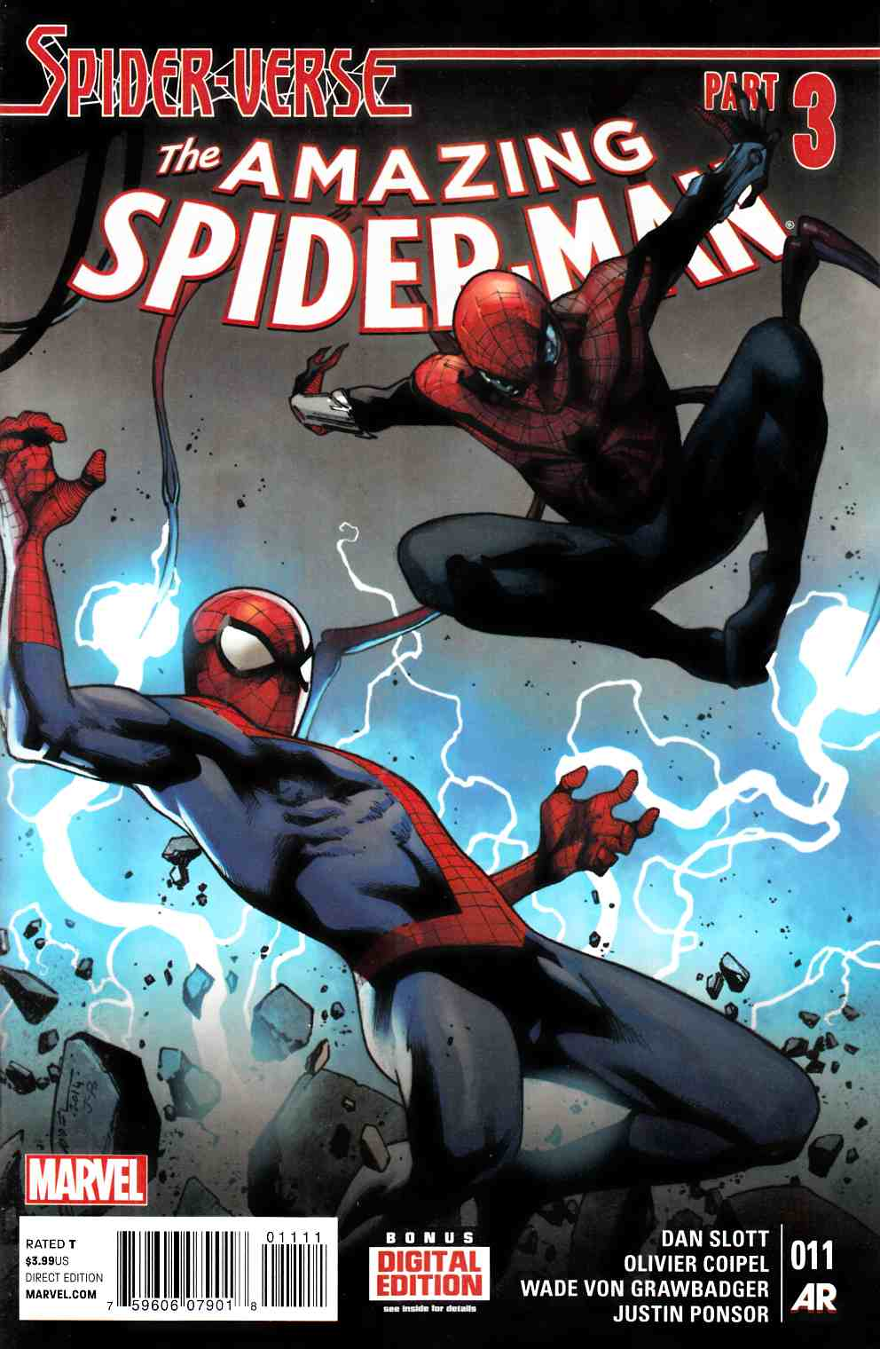 The Amazing Spider-Man #11 Part 3, Marvel // Dan Slott.