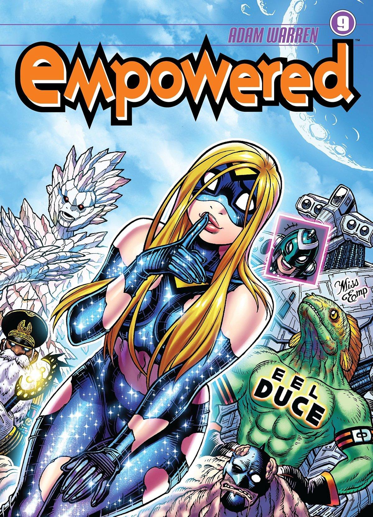 Empowered, deconstructive comics