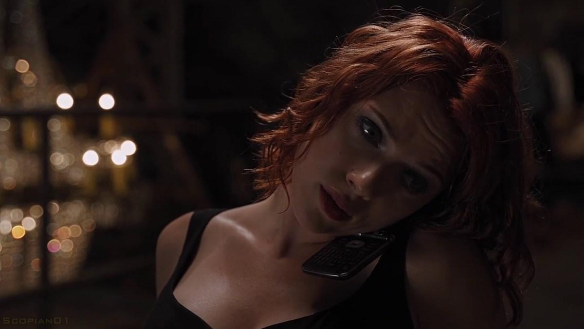 Black Widow's Hairstyles