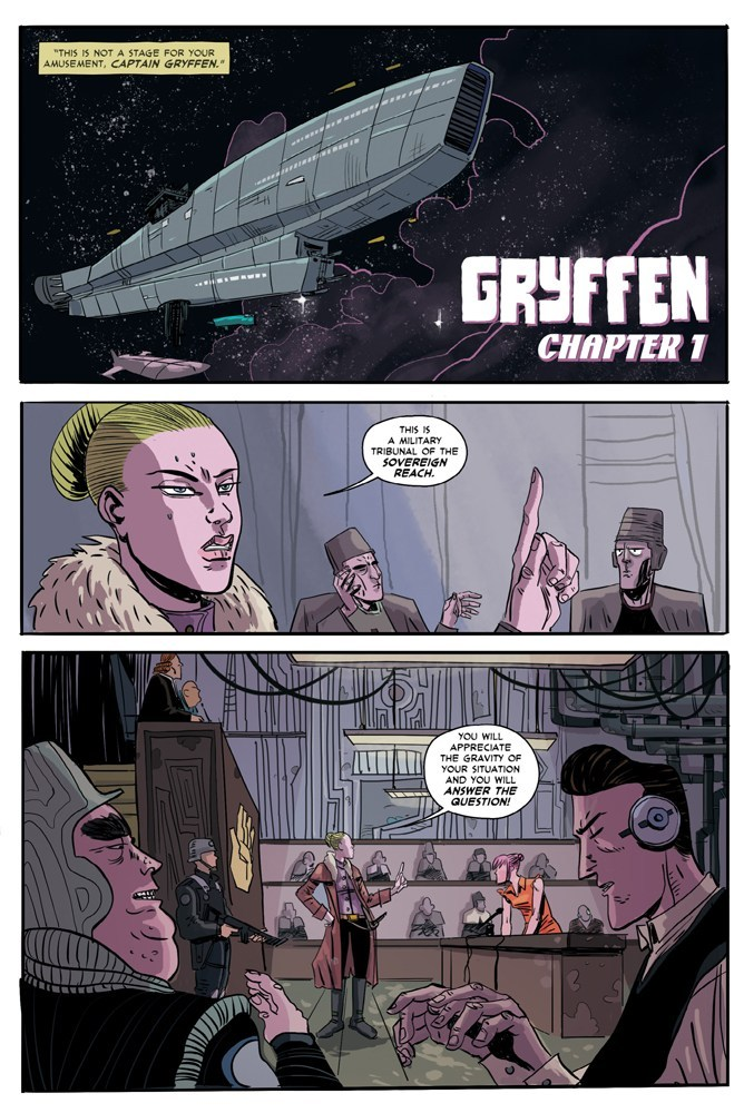 Gryffen: Galaxy's Most Wanted