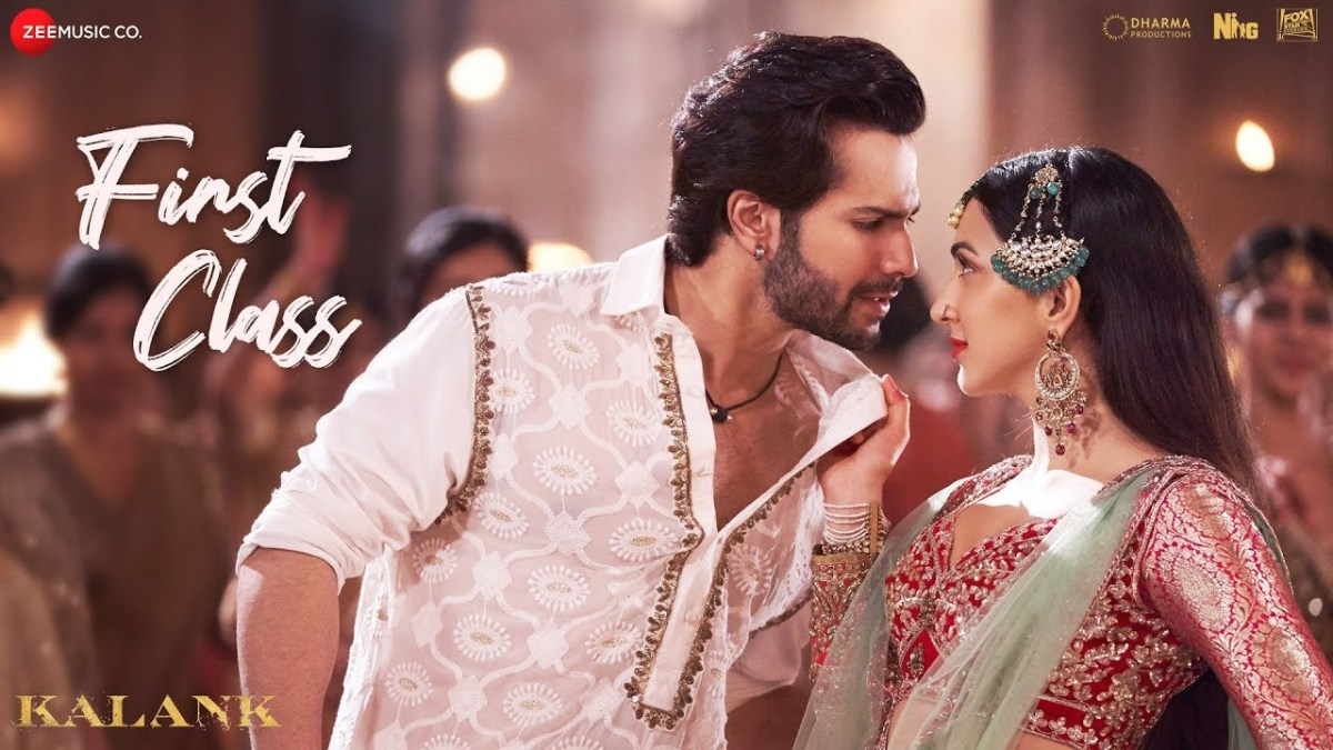 """Promotional image for """"First Class"""" from Kalank, International songs"""