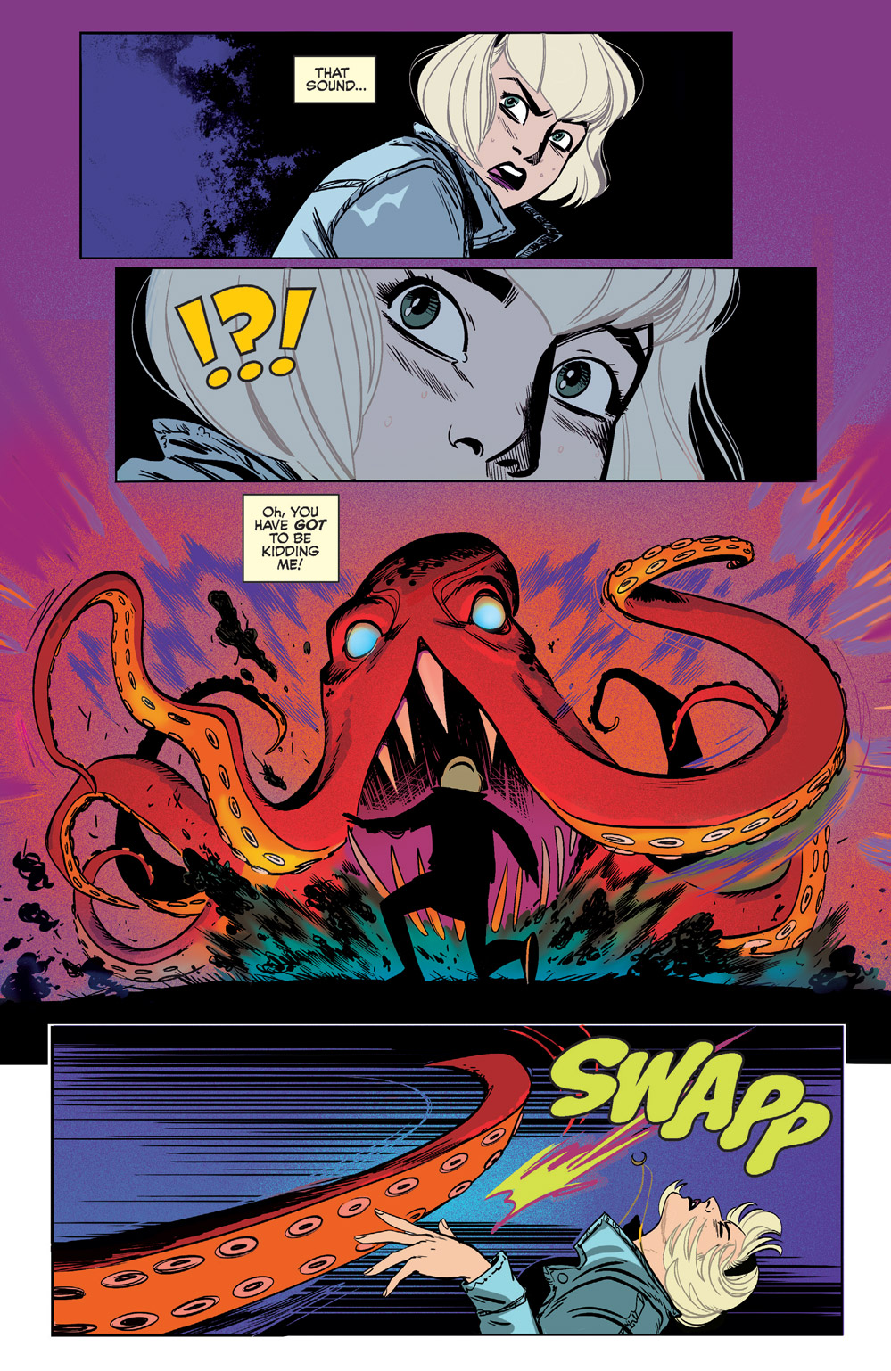 yeah, thats a kraken in Sabrina the Teenage Witch #2