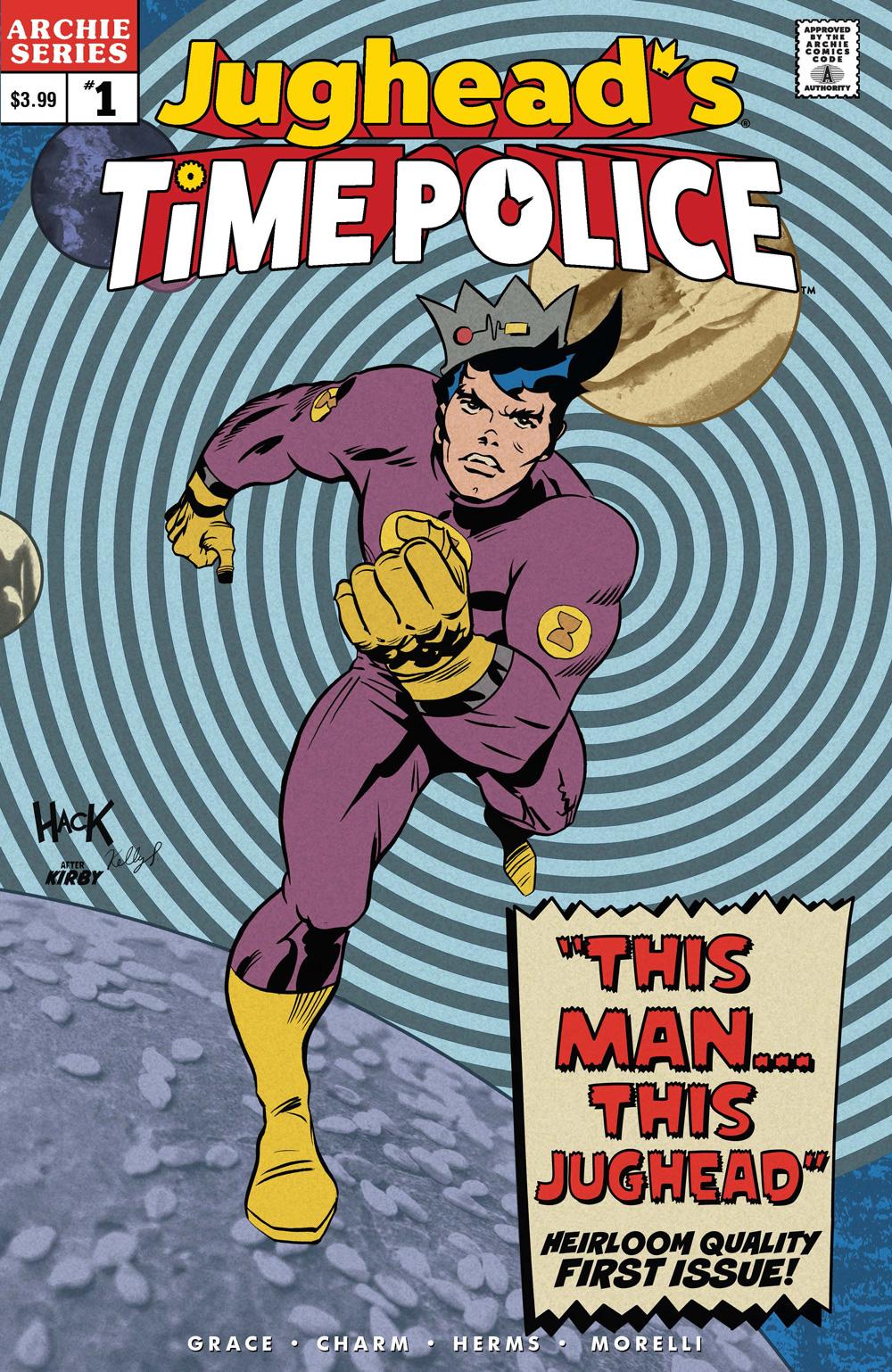 Jughead's Time Police #1
