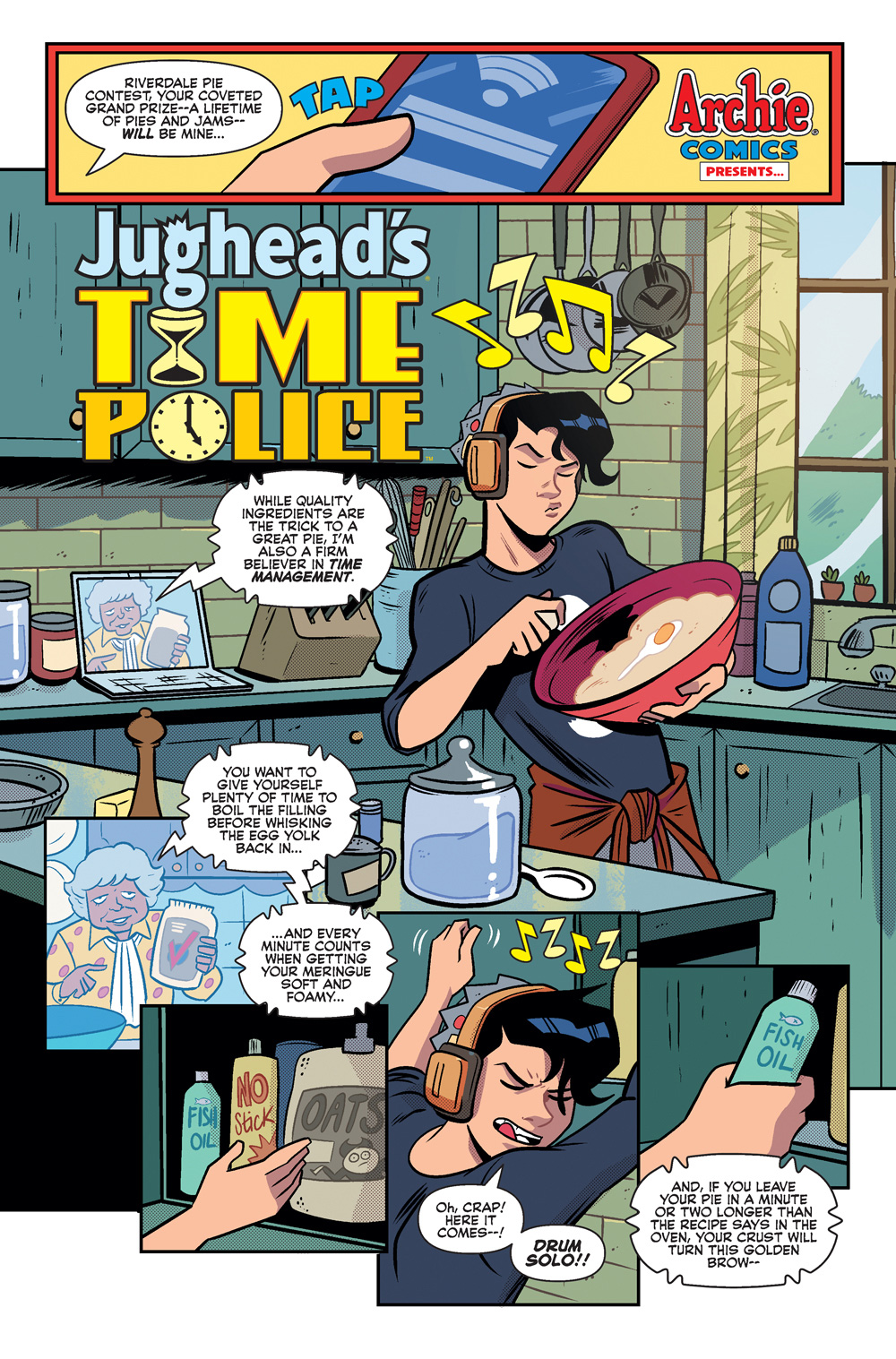 Jughead Is Going Through Time In Jughead's Time Police #1