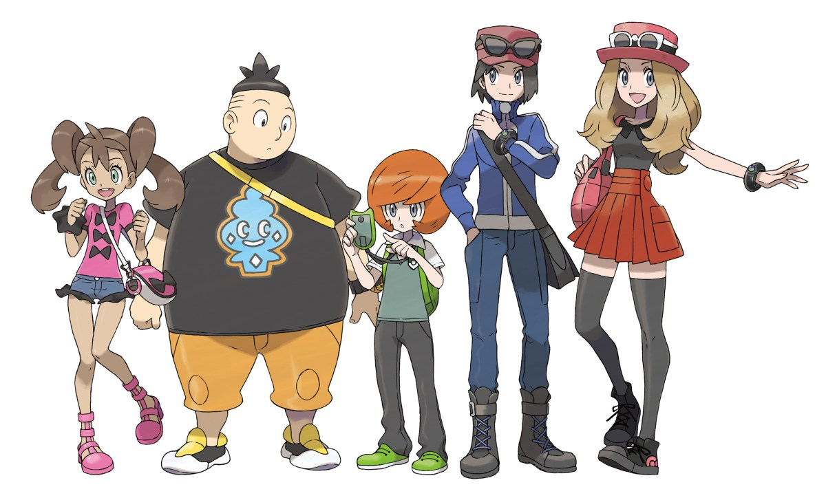pokemon rivals pokemon X/Y