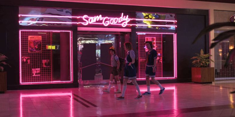 Netflix's Stranger Things Starcourt Mall.