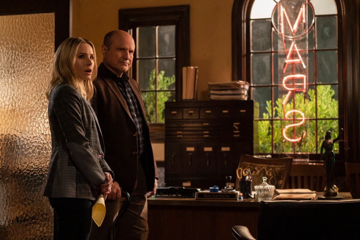 Keith & Veronica Mars in Veronica Mars Season 4.