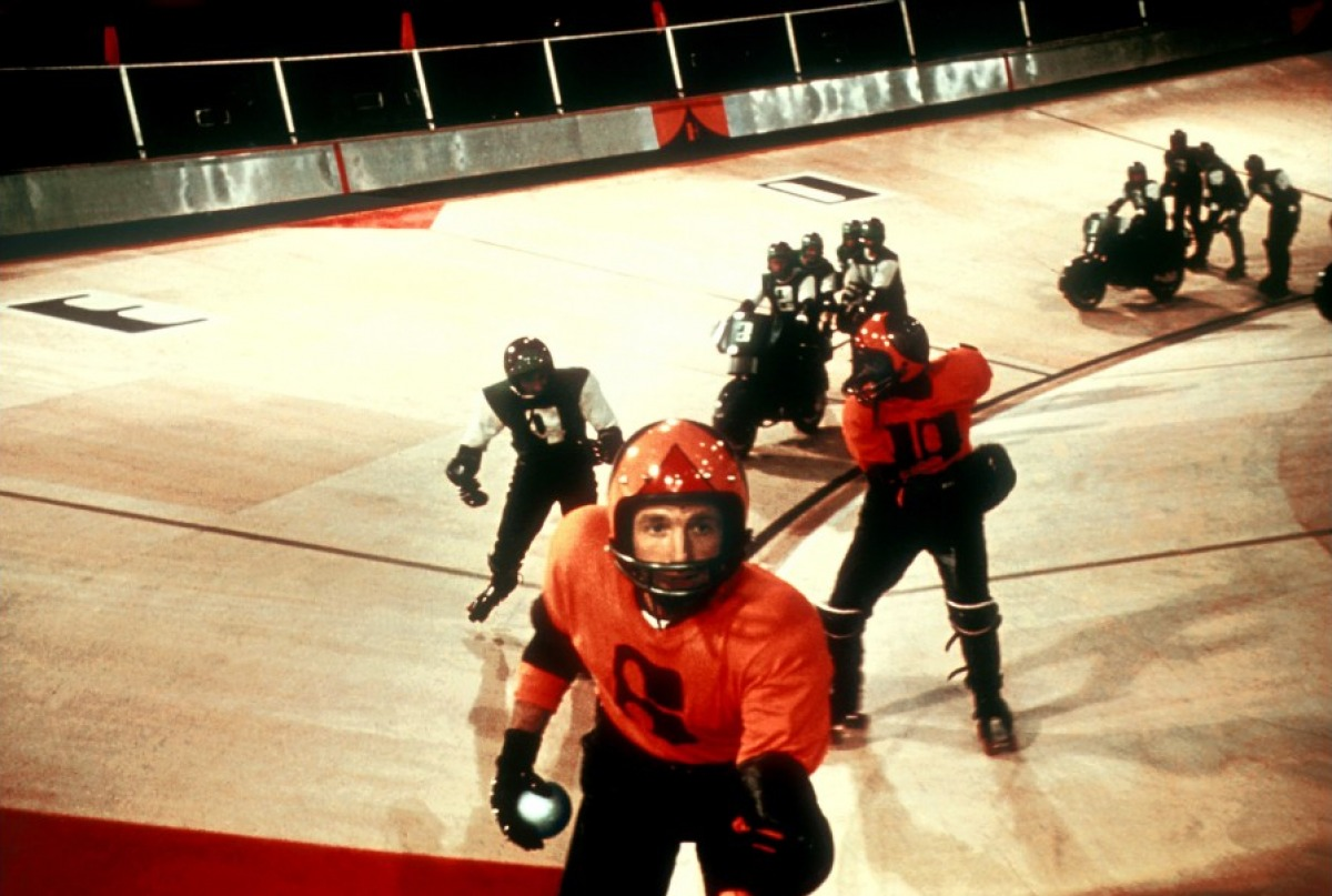 Rollerball, the rollerblading/roller skating film, (MGM Distribution Co. & Columbia Pictures).