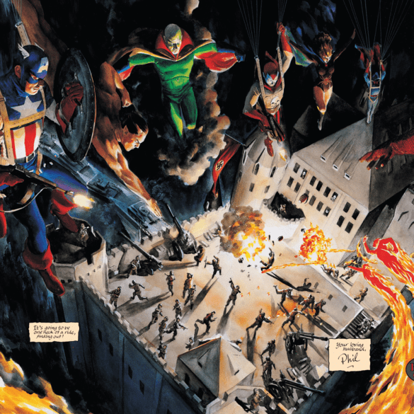 MARVELS ANNOTATED #1.