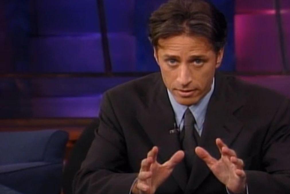 (One) hero of fake news fandom: Jon Stewart.