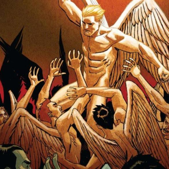 Lucifer #11: Cover.