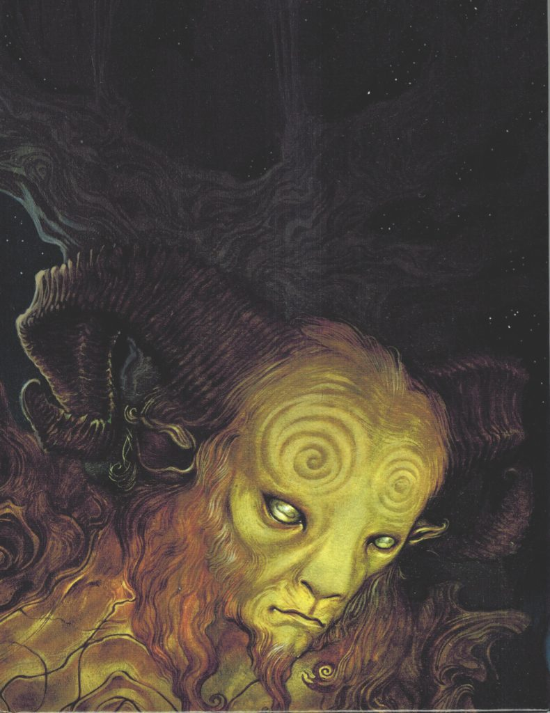 The Faun, Ofelia's enigmatic guide to the realm of Faerie.
