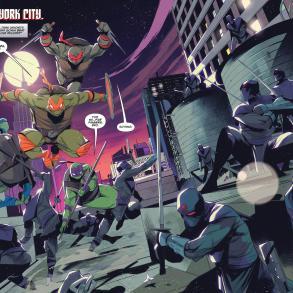 Mighty Morphin Power Rangers/Teenage Mutant Ninja Turtles #1 (BOOM! Studios 2019)